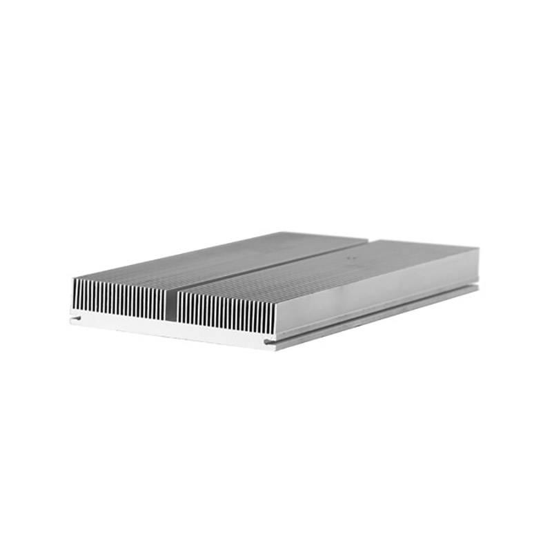 佛山铝型材散热器定制加工|挤压铝型材插片散热器批发