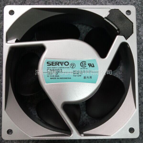 日本伺服 CNJ60B5 200V 15/13W 12厘米机柜轴流风机
