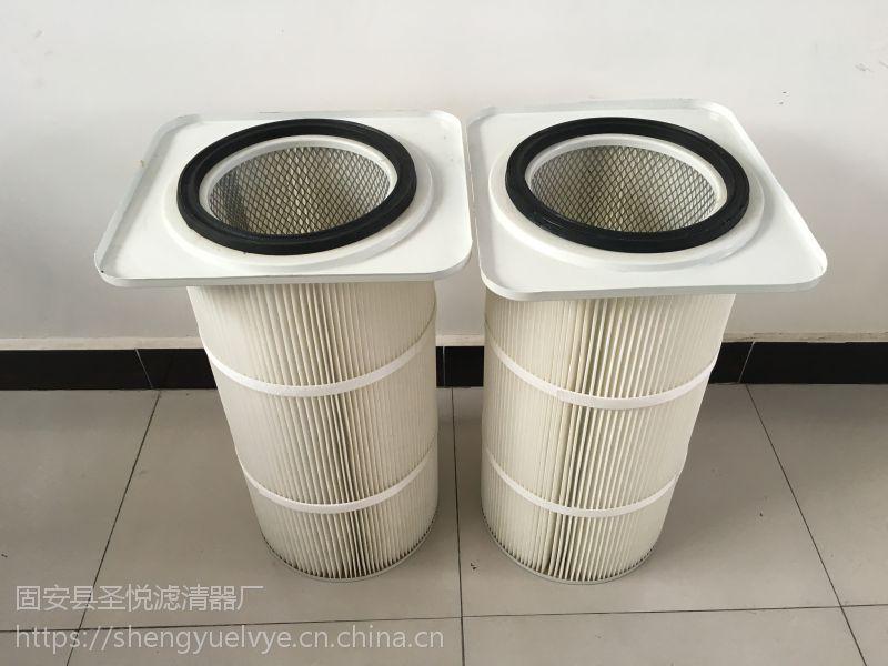 除尘滤芯法兰式滤筒质优价廉
