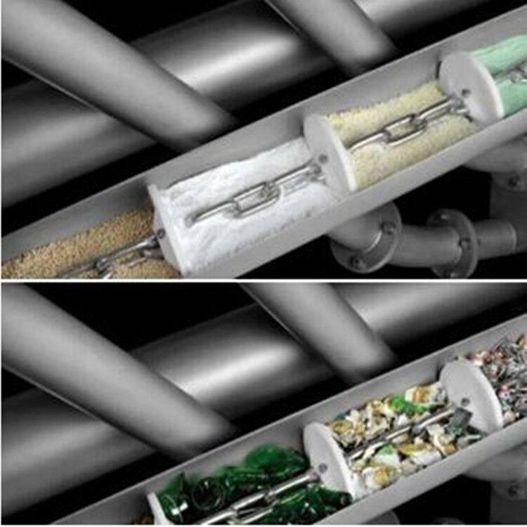 江苏管链输送机厂家 钙粉颗粒物料管链提升机 徐