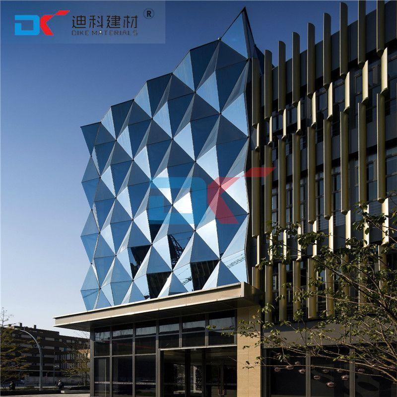 中山高档小区外墙铝单板、幕墙氟碳铝单板、防风抗压易清洗
