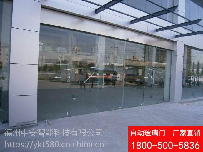 供应福州自动感应玻璃门