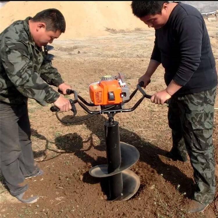 种树挖坑机 商丘汽油打坑机 手提便携式植树机