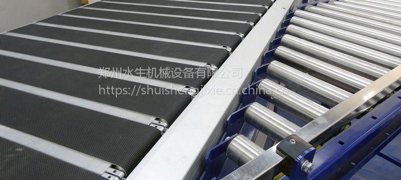 物流输送系统 分合流分拣 物流分拣输送系统 按客户要求定制 水生机械