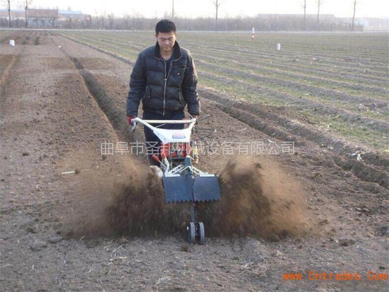 手扶式大棚专用开沟培土机