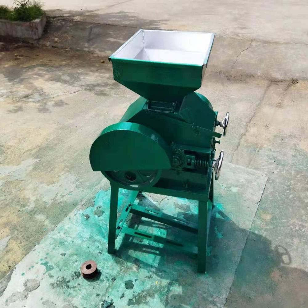 食品厂用大豆挤扁机 大豆压扁麦片机 粮食豆扁机 小型玉米挤扁机