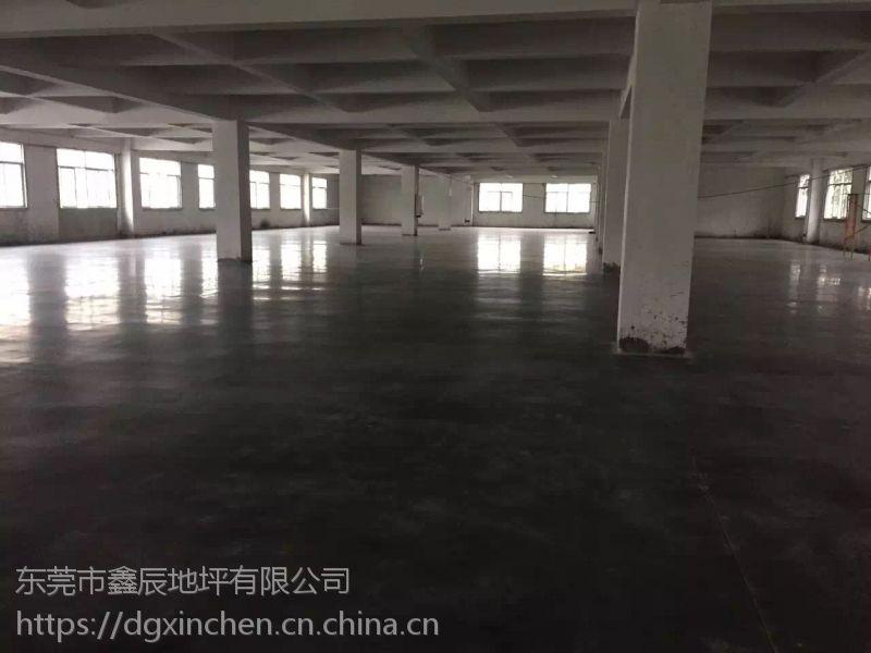 中山港口工厂车间地面起灰尘怎么办+三角水泥地面硬化处理