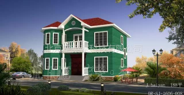 定荣家农村自建房设计图纸 别墅装修效果图大全