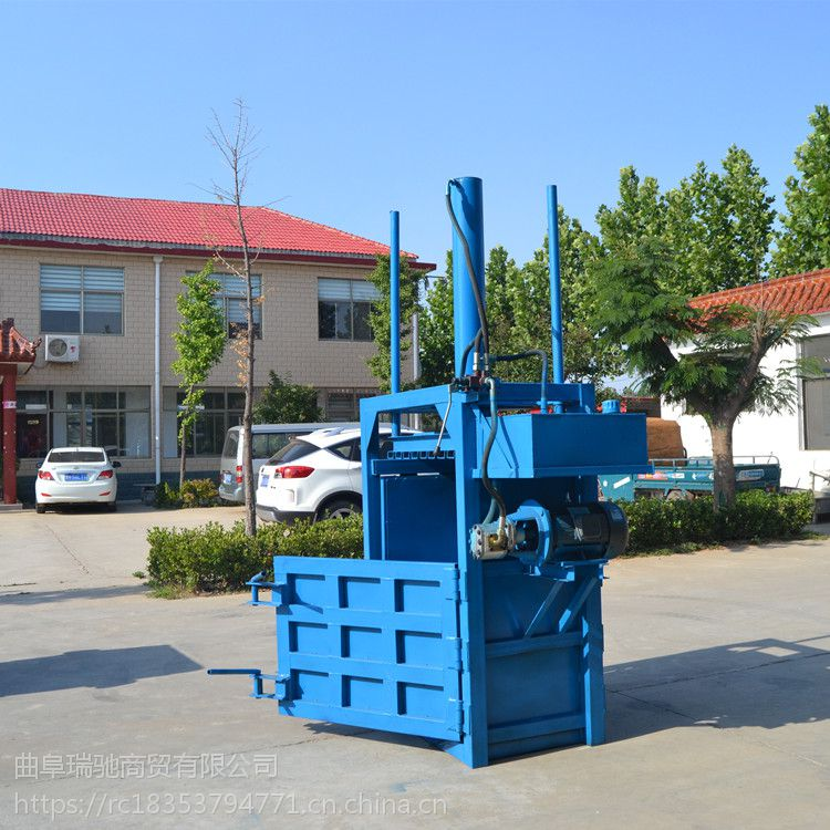 废料站打包机 压缩压块机牧草打包 新款液压打包机