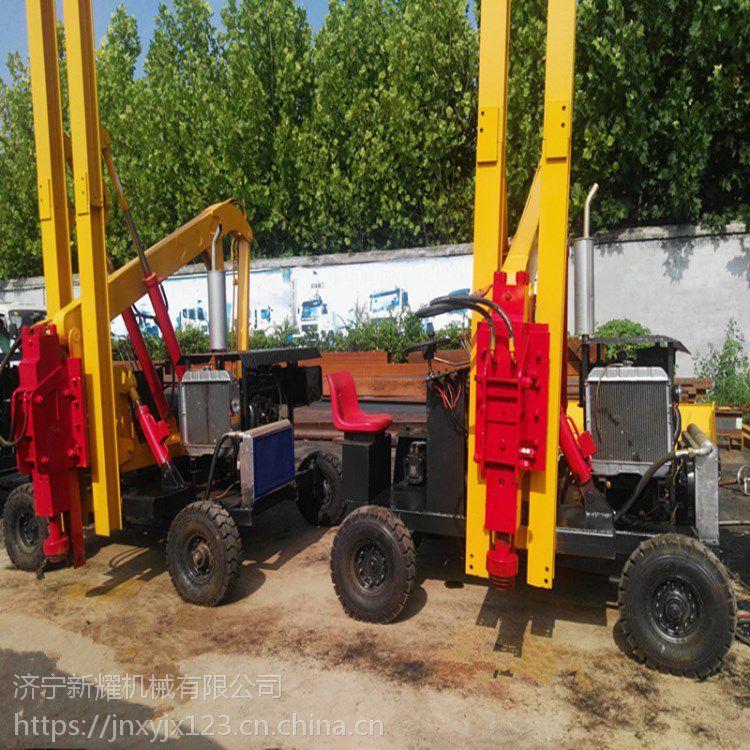 小型公路护栏打桩机,配置表两用地基打桩机