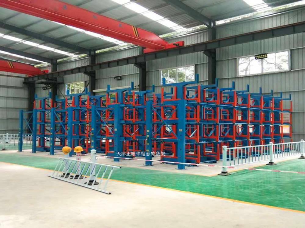 巴彦淖尔有适用于管材存放的货架 抽屉货架供应 钢管仓储存放方法