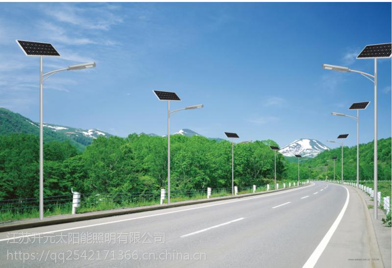 山东威海6米30W模组锂电池太阳能路灯一套多少钱