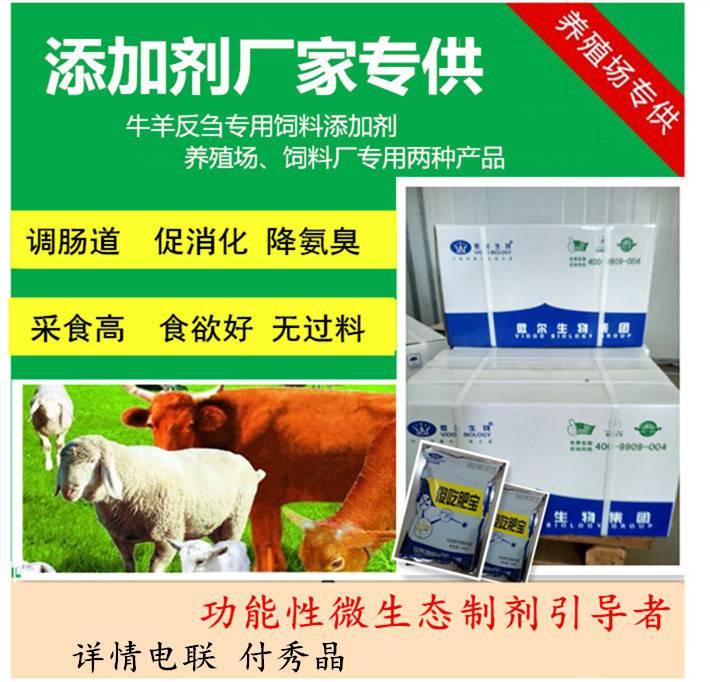 调理牛羊肠胃益生菌治疗牛羊肠道不好有过料