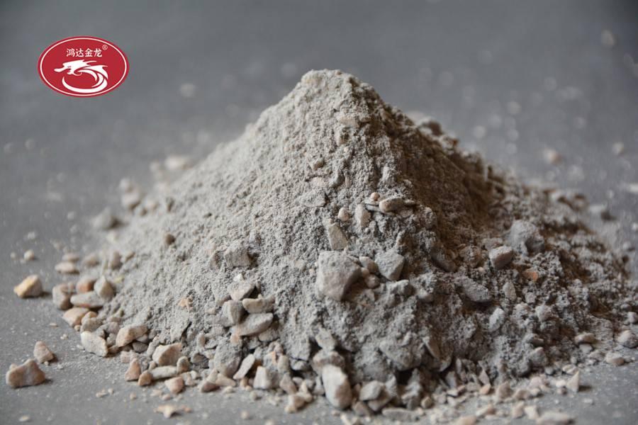 保湿炉及其熔剂和合金料处理室用的耐火材料与反射炉的基本相同