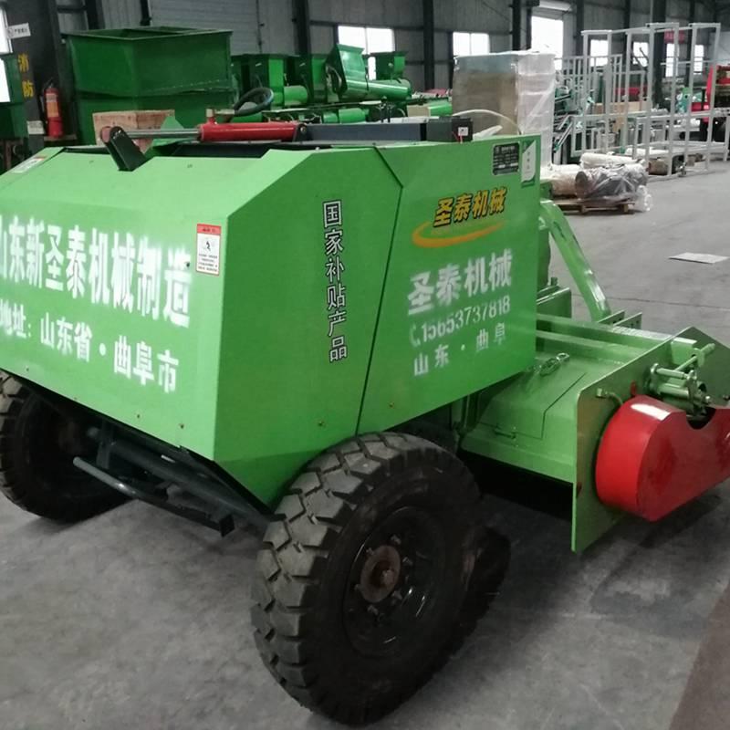 玉米秸秆回收打捆机不二之选 山东1300小型玉米秸秆粉碎打捆机
