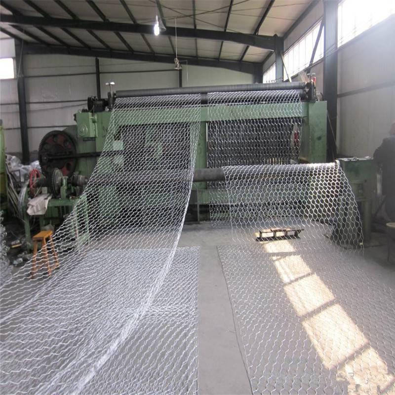 张家港缎纹编织5%锌铝合金石笼网——8*10cm石笼网一诺加工厂家