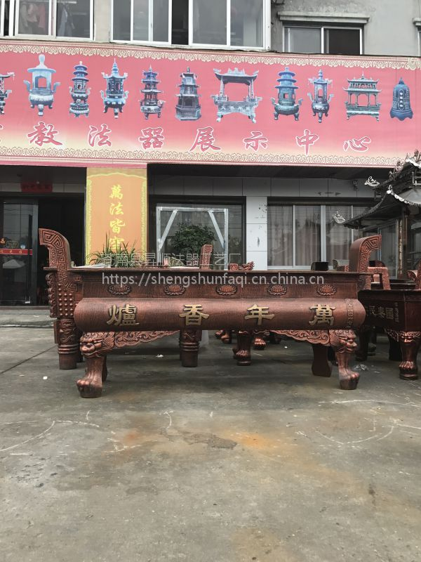 福建生铁铸造天地炉 广东湛江购买大型寺庙香炉 祠堂铸铁香炉