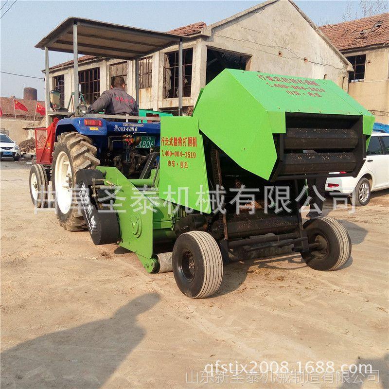 玉米秸秆揉丝粉碎打包机 牧草液压打包机 新型打包机