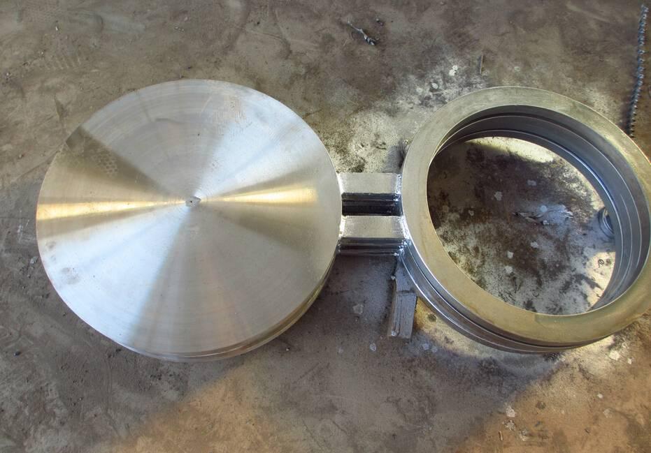 供应高压对焊8字盲板,美标ASME B16.48八字盲板
