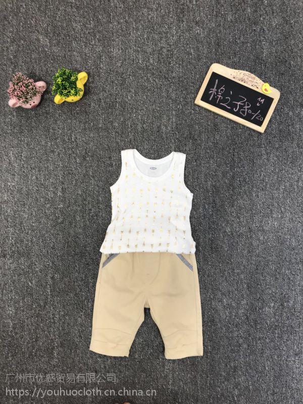 童装批发 棉之子春装儿童服装一手货源走份 厂家直销尾货批发