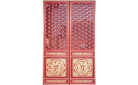 来宾市中式实木仿古门窗匠心木雕工艺