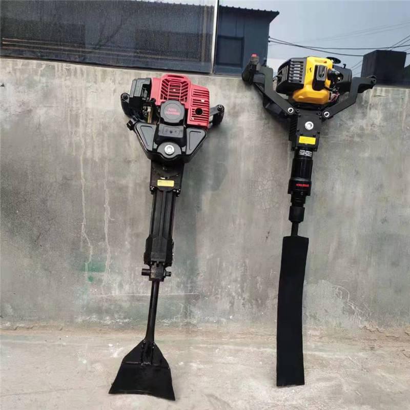 园林专用移栽机 启航汽油大马力链式起树机 便携式带土球挖树机