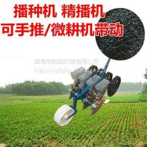 农用谷子精播机 启航牌拖拉机牵引式桔梗播种机 东北桔梗种植机价格