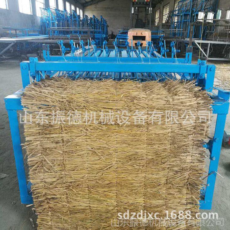 供应 电动草帘机批发 大棚保温草帘机 稻草牧草编织机 生产厂家
