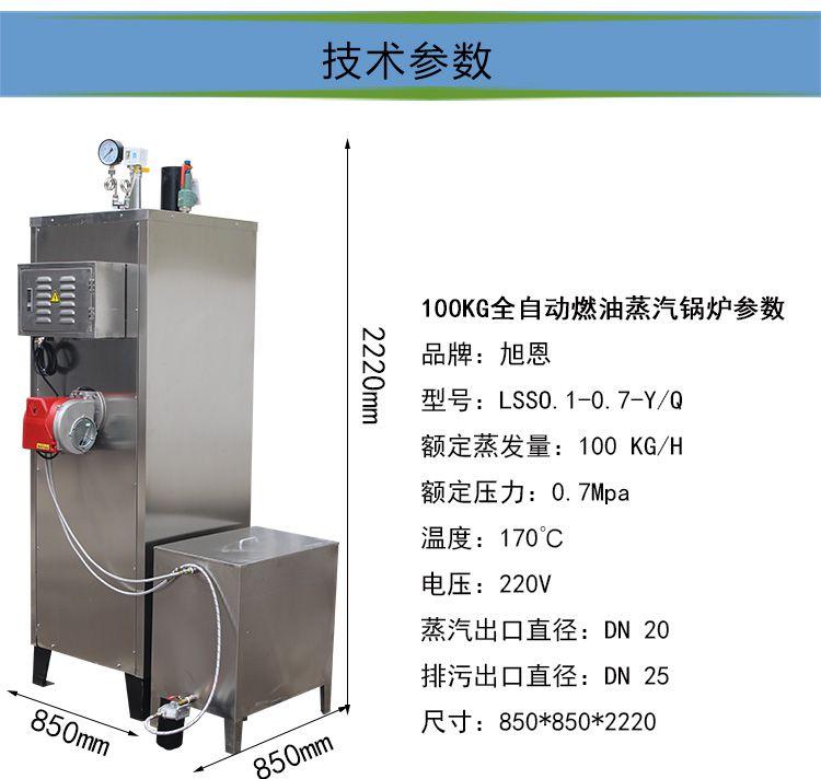 旭恩室燃炉100KG燃甲醇蒸汽发生器制造商