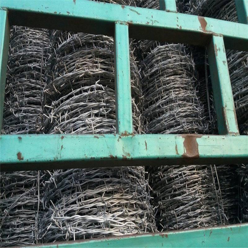 单股刺绳 镀锌刺绳围网价格 刀片滚笼价格
