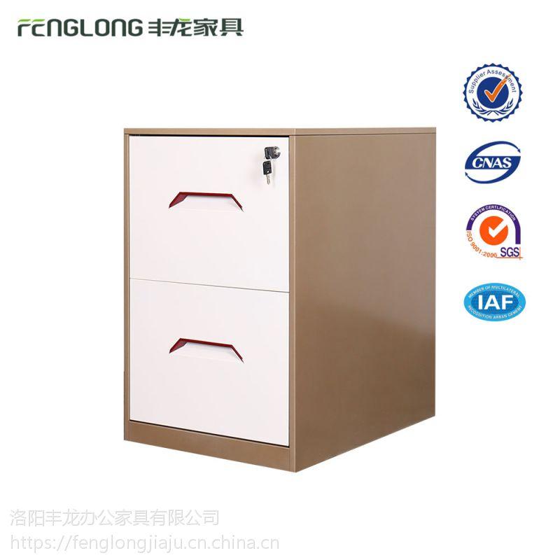 洛阳拆装钢制文件柜 铁皮柜矮柜 二斗卡箱 卡片挂劳柜 抽屉档案柜