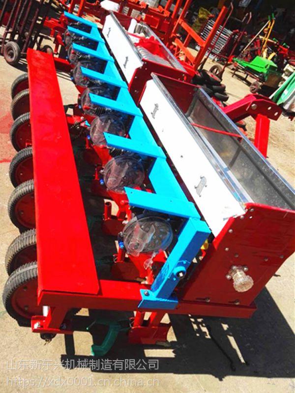 多功能高粱播种机 大豆精播机 行距株距可调豆类种肥同施播种机