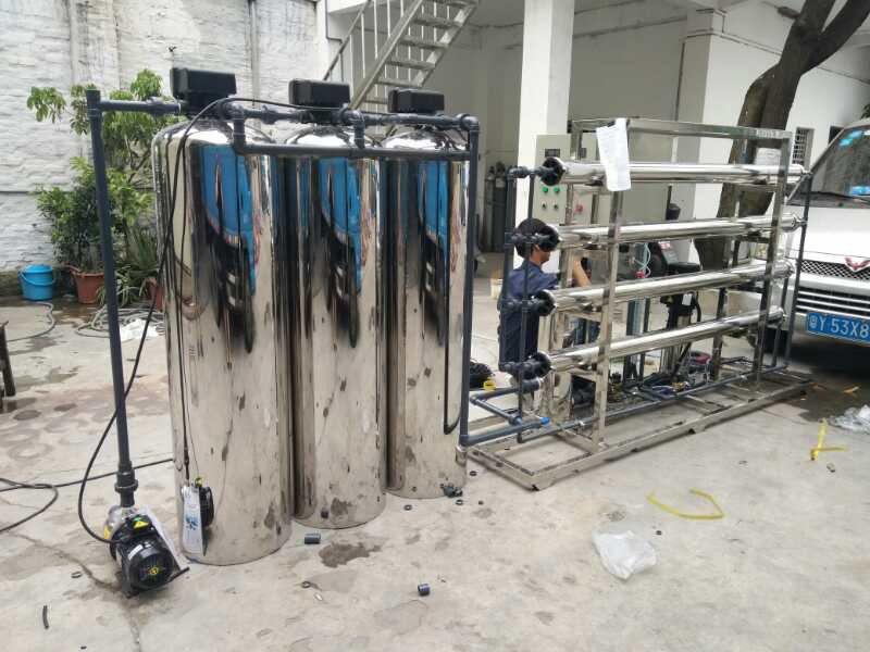 供应 江苏地下水农村井水过滤器连云港市不锈钢除水垢降低水硬度过滤器 脉德净