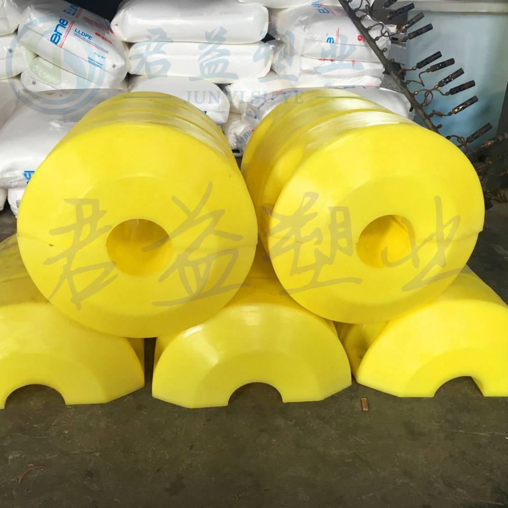 天津圆形浮筒 直径500*800两半体聚氨酯发泡浮筒