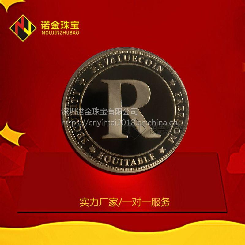 纪念币厂家定制 浮雕头像古铜纪念章 纯银纪念币