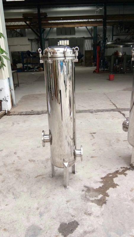 供应广东惠州市轻工电镀行业使用过滤器304不锈钢精密保安大通量过滤器清又清厂家
