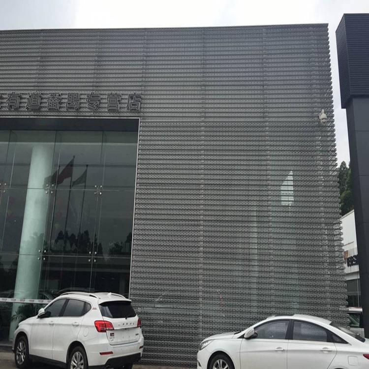 广州铝合金长城板 4S店长城铝单板厂家_欧百得