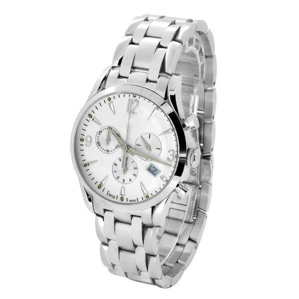礼品手表厂家 热销男士不锈钢石英手表 稳达时品牌