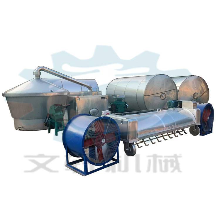 定做不锈钢一体式酿酒设备 小型蒸酒设备生产厂家
