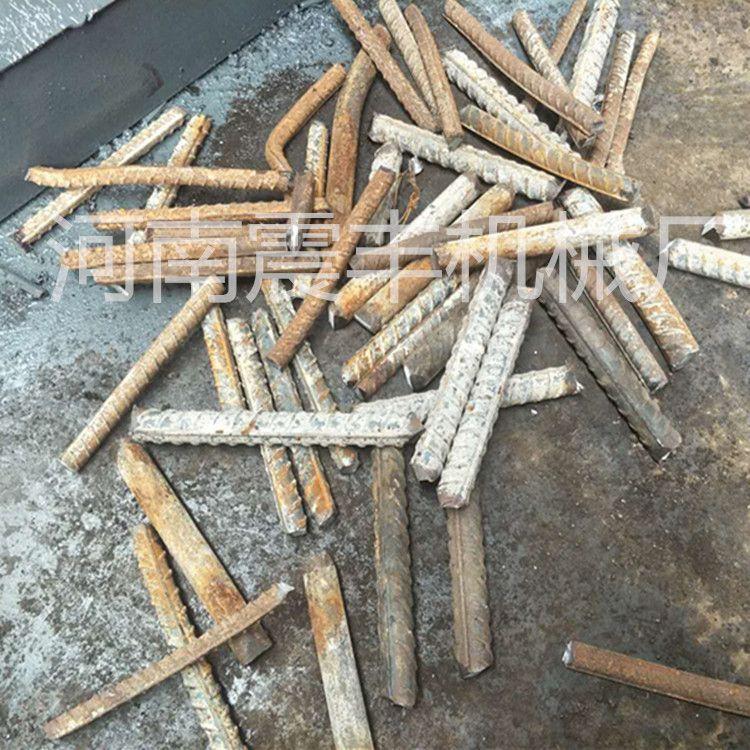 立式液压圆钢螺纹钢钢管建筑切断机 废旧钢筋压断下料机