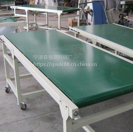 强盛常年生产PVC带式输送机 皮带输送线规格齐全按客户要求制作可定制