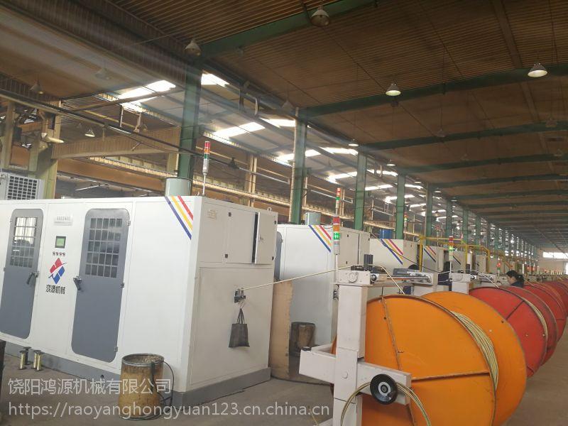 供应钢丝合股机,鸿源胶管钢丝合股设备价格参数