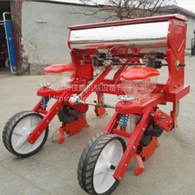 免间苗娃娃菜精播机 拖拉机谷子播种施肥机 新款油菜播种机