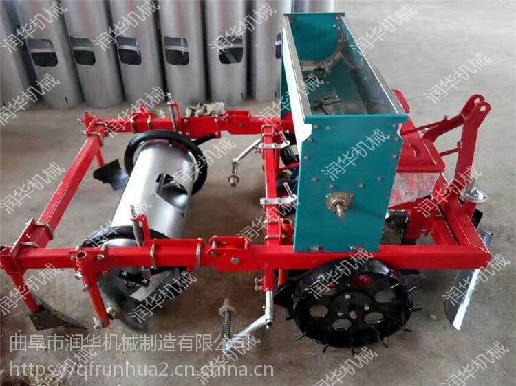 现货供应花生玉米精播机 四轮带动喷药施肥播种机 油葵种植机