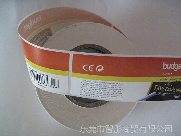 卷筒不干胶标签 定制批发 厂家直销