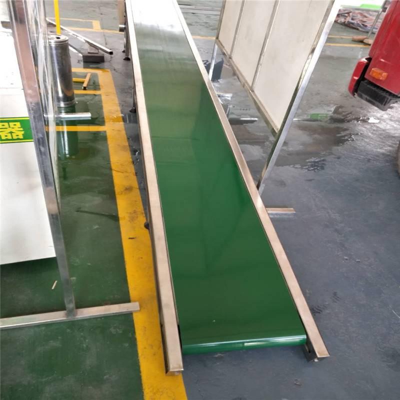 传送带输送机德隆定做轻型皮带输送机食品流水线 挂面流水线