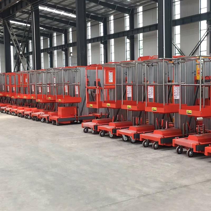 GTWY-10M铝合金式升降机 移动式电动液压升降台品牌制造厂