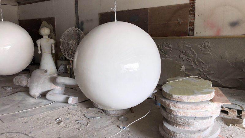 圆球玻璃钢制作佛山玻璃钢雕塑图片