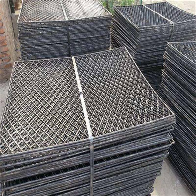 北京喷漆防滑钢笆片——新型平台踏板菱形孔钢笆片在线咨询