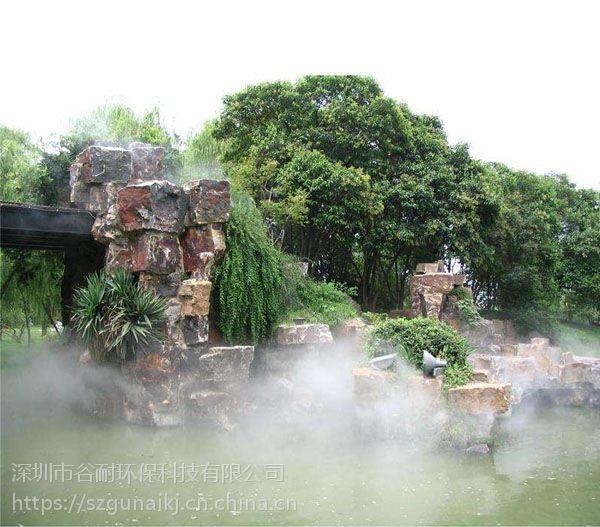 景点景观喷雾设备 喷雾加湿机图片 案例(南宁|柳州|桂林|玉林|梧州|北海)